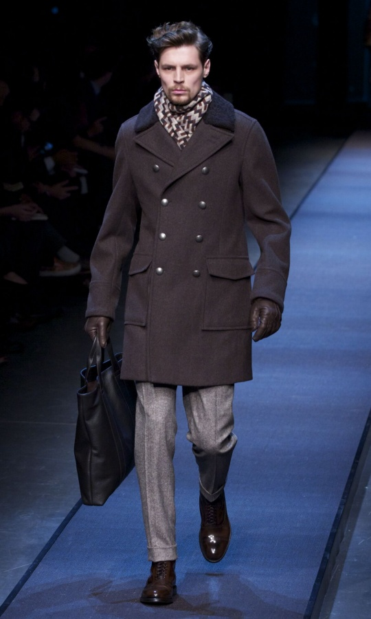 Fall-2014-Men-Fashion-Show-Canali 75+ Most Fashionable Men's Winter Fashion Trends for 2019