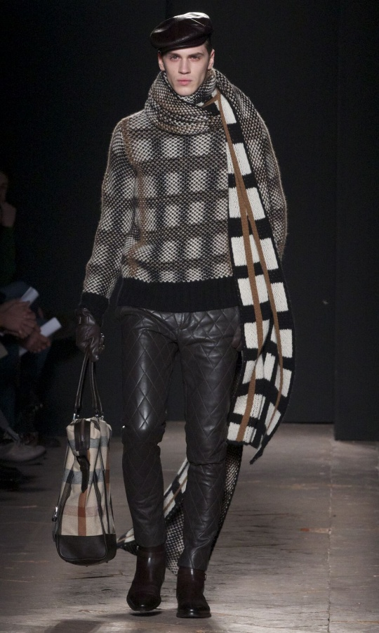 Fall-2014-Men-Fashion-Show-Daks 75+ Most Fashionable Men's Winter Fashion Trends for 2019