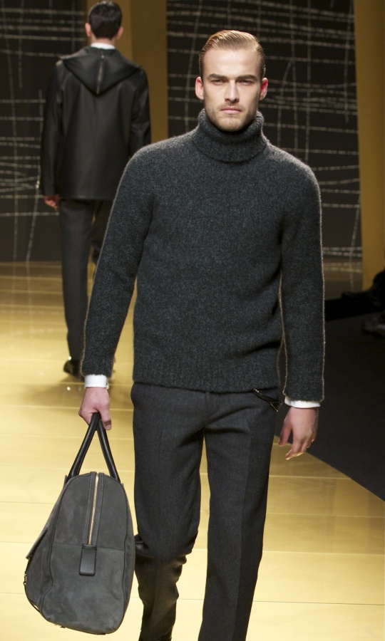 Fall-2014-Men-Fashion-Show-Ermenegildo-Zegna 75+ Most Fashionable Men's Winter Fashion Trends for 2019