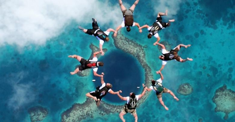 Photo of Weird Blue Holes That Are Magnets for Divers Around the World