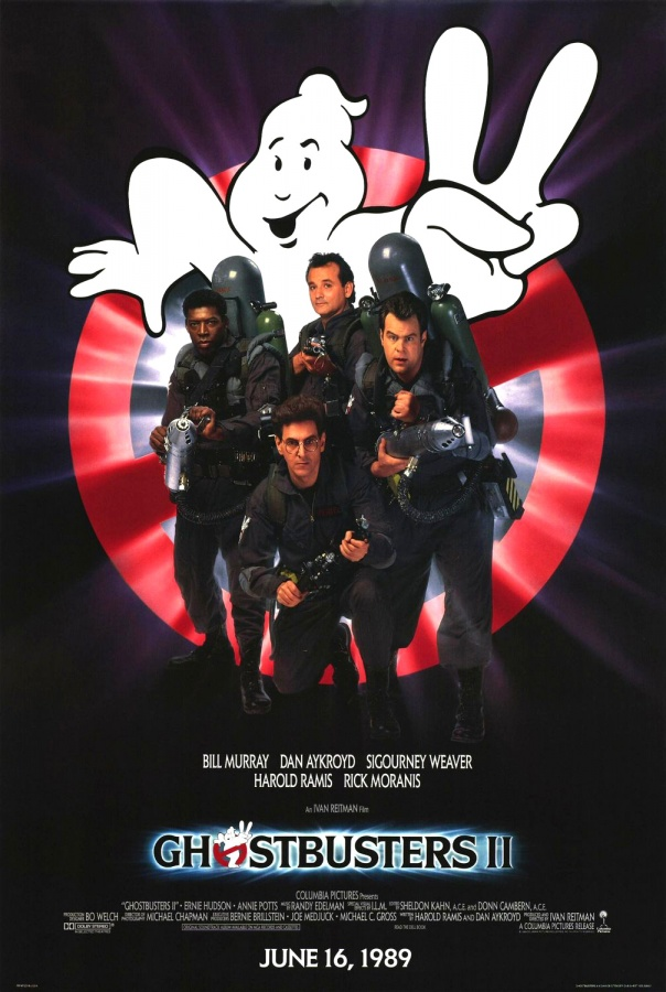 Ghostbusters_ii_poster Top 10 Best & Most Interesting Kids Halloween Movies of All Time