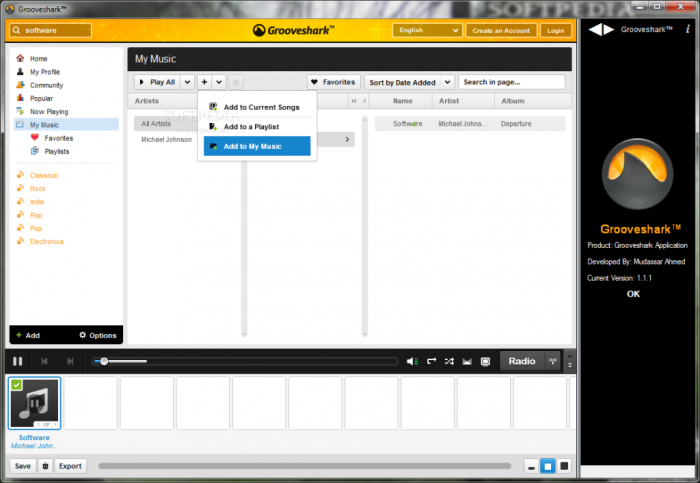 Grooveshark_1 Enjoy Listening to Millions of Free Online Songs with Grooveshark