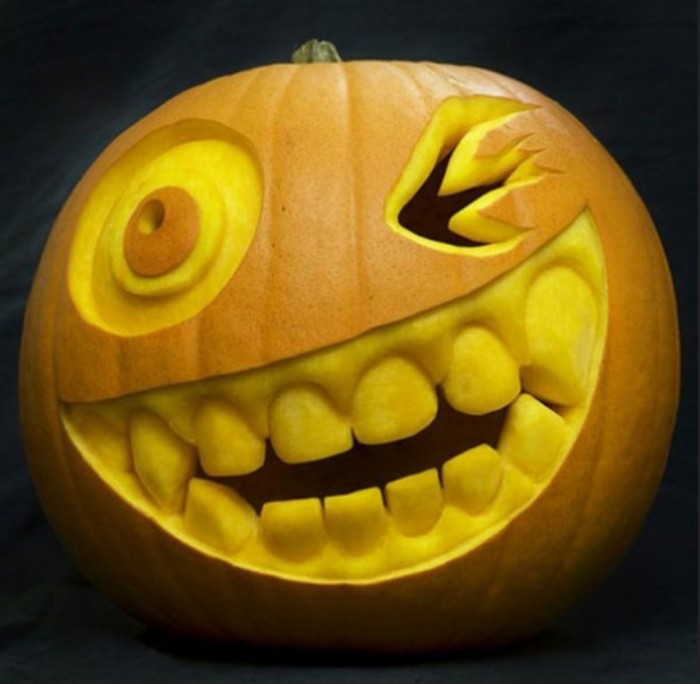 Halloween-Pumpkin-Carving-Creative-Ideas. Top 60 Creative Pumpkin Carving Ideas for a Happy Halloween