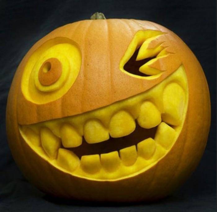 Halloween-Pumpkin-Carving-Creative-Ideas. Top 60 Creative Pumpkin Carving Ideas for a Happy Halloween
