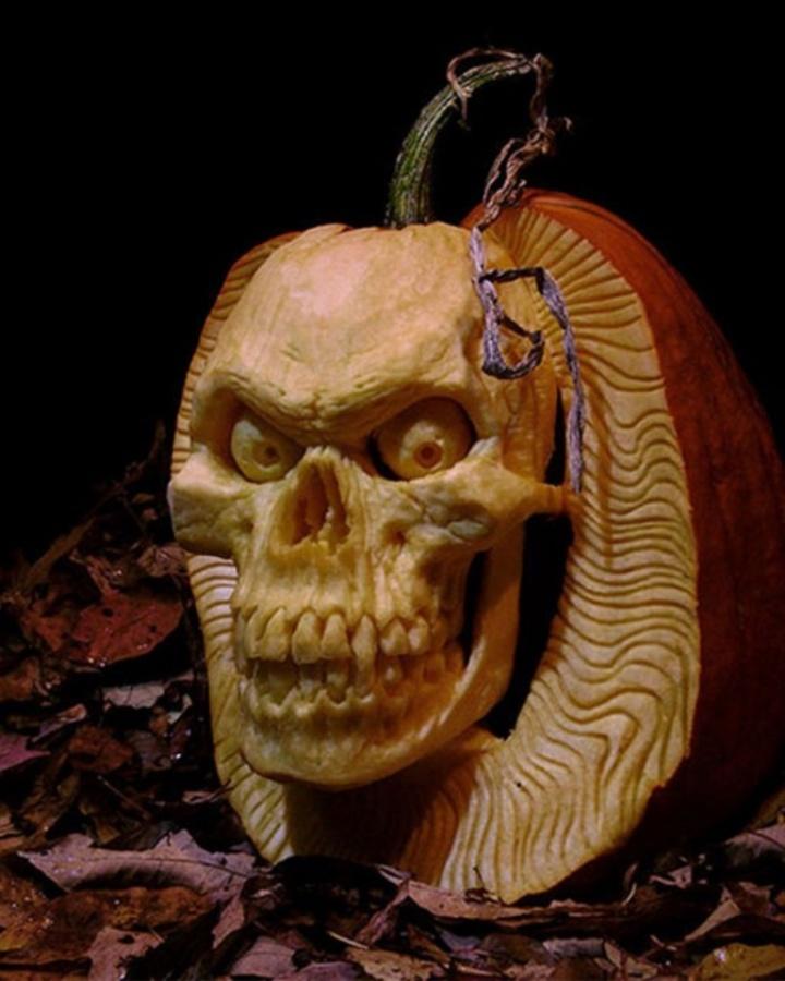 Halloween-Pumpkin-Carving-Ideas-2014 Top 60 Creative Pumpkin Carving Ideas for a Happy Halloween