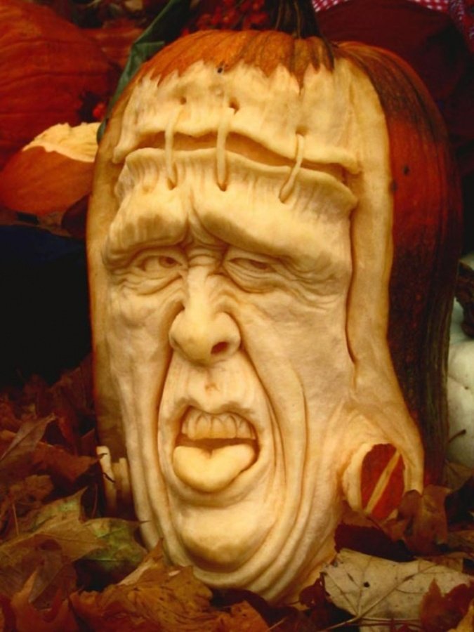 Halloween-Pumpkin-Carving-and-Decorating-Ideas-23 Top 60 Creative Pumpkin Carving Ideas for a Happy Halloween