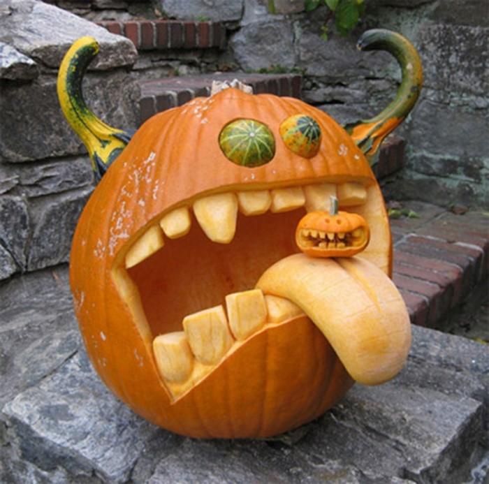 Halloween-pumpkin-carving-designs Top 60 Creative Pumpkin Carving Ideas for a Happy Halloween
