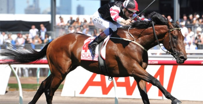 Hugh-Bowman-crossing-the-winning-post-on-Polanski- Melbourne Cup Is a Rich & Prestigious Horse Race that Stops a Nation