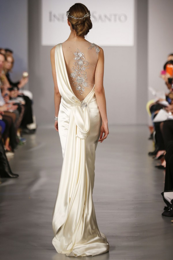 Ines-DiSanto-Spring-2014-sexy-back 47+ Creative Wedding Ideas to Look Gorgeous & Catchy on Your Wedding