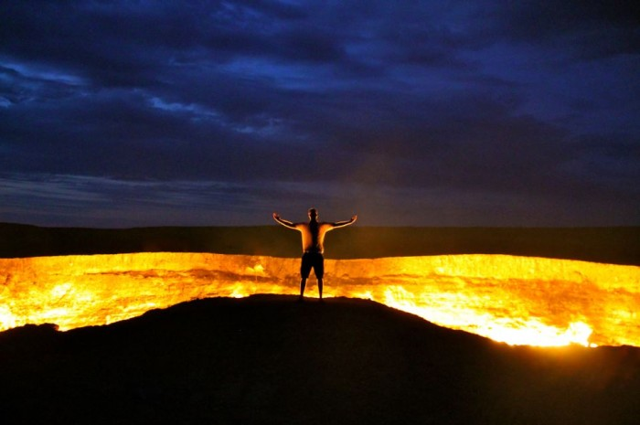JCMg2BH The Door to Hell Is Open Now, Have You Ever Seen It?