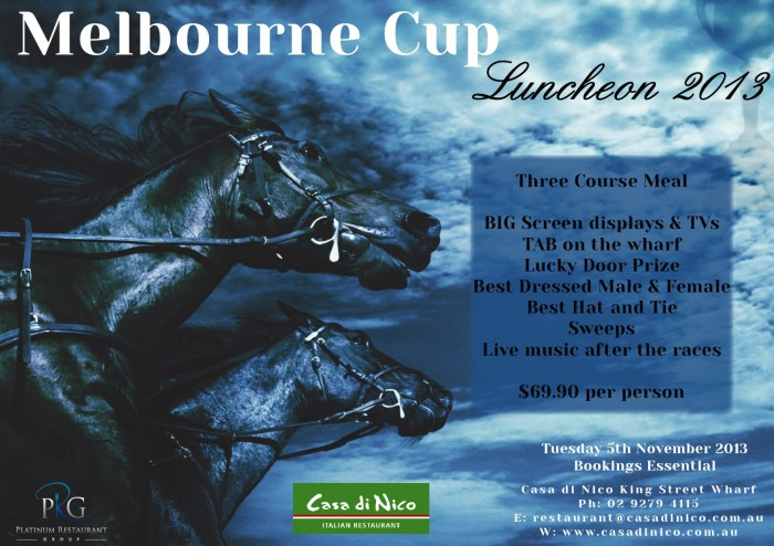 Melbourne-Cup-2013-CDN1 Melbourne Cup Is a Rich & Prestigious Horse Race that Stops a Nation