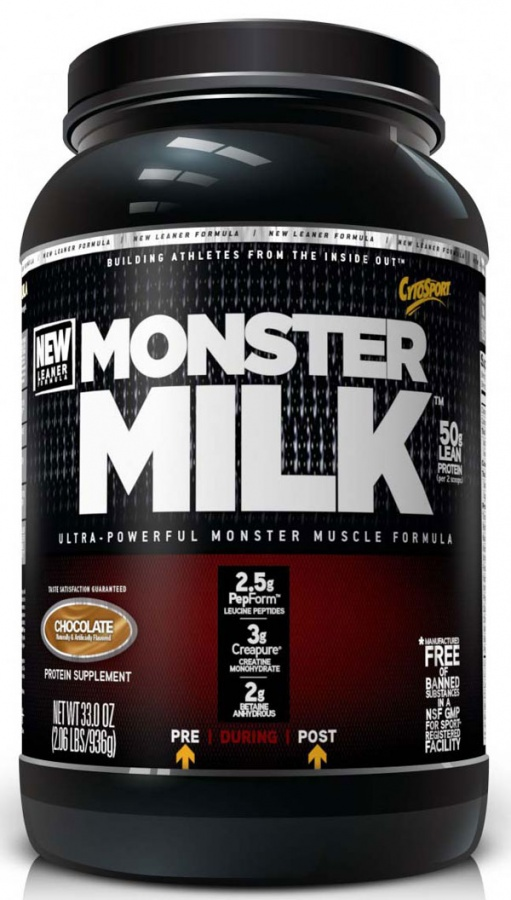 """Monster-Milk Get All the Essential Nutrients for Your Body from """"Supplements to Go"""""""