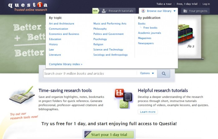 """New-Picture-22 Write the Best Research Paper & Get Better Grades with """"Questia"""""""