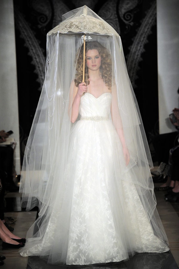 New-York-Bridal-Week-Reem-Acra-20 47+ Creative Wedding Ideas to Look Gorgeous & Catchy on Your Wedding