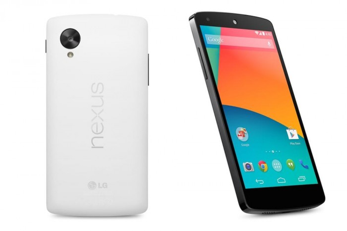 Nexus-5-White Google Releases Its Nexus 5 that Is Powered by Android 4.4, KitKat