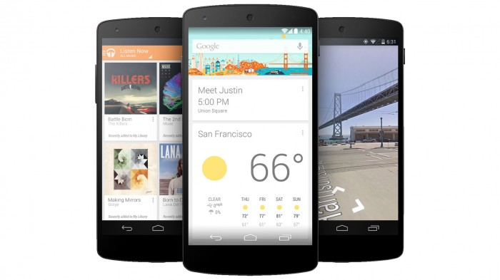 Nexus-5 Google Releases Its Nexus 5 that Is Powered by Android 4.4, KitKat