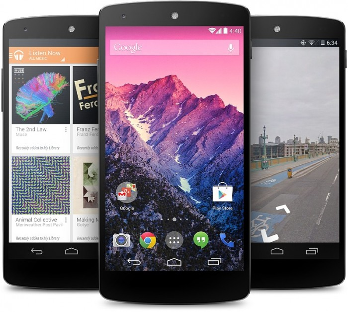 Nexus5-product Google Releases Its Nexus 5 that Is Powered by Android 4.4, KitKat