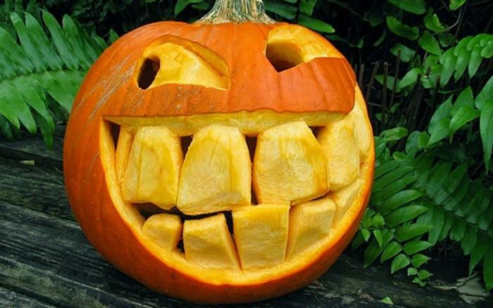 Pumpkin-Carving-2013-Wallpaper-3 Top 60 Creative Pumpkin Carving Ideas for a Happy Halloween