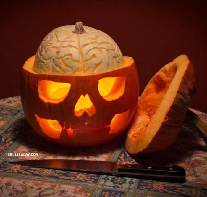 Pumpkin-anatomy Top 60 Creative Pumpkin Carving Ideas for a Happy Halloween