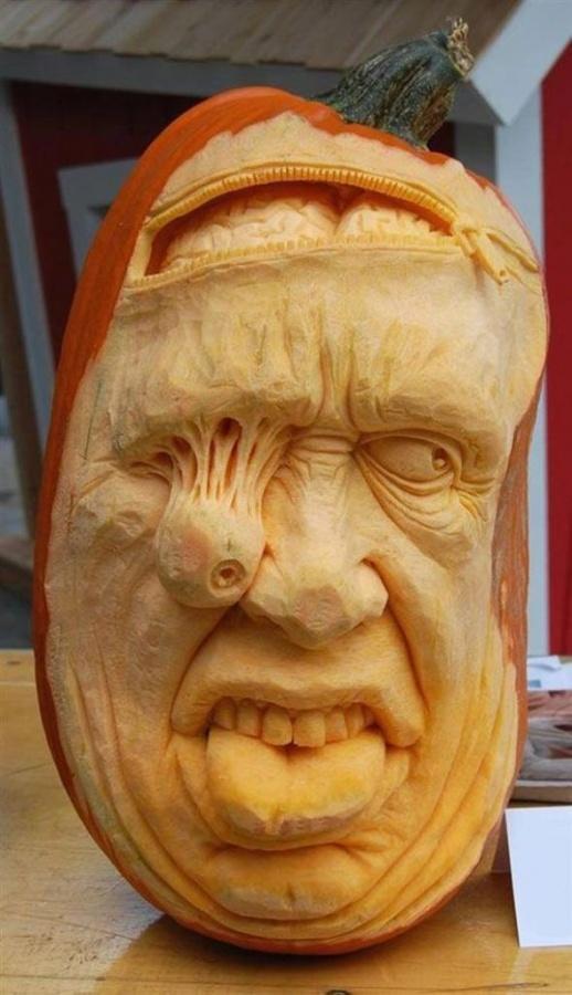 Pumpkin-sculptures-5 Top 60 Creative Pumpkin Carving Ideas for a Happy Halloween