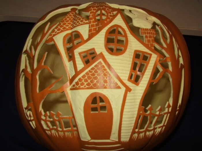 Pumpkin_by_weirdal Top 60 Creative Pumpkin Carving Ideas for a Happy Halloween