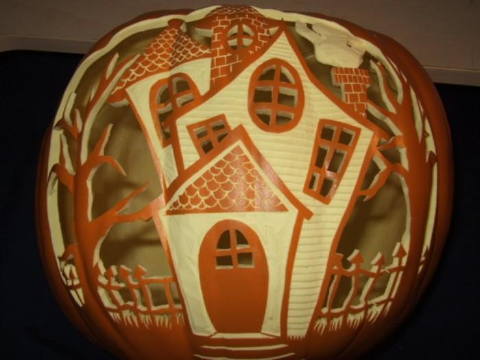 Pumpkin_by_weirdal Top 60 Creative Pumpkin Carving Ideas for a Happy Halloween