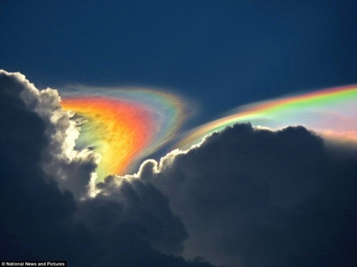 Rainbow2 Weird Fire Rainbows that Appear in the Sky, Have You Ever Seen Them?