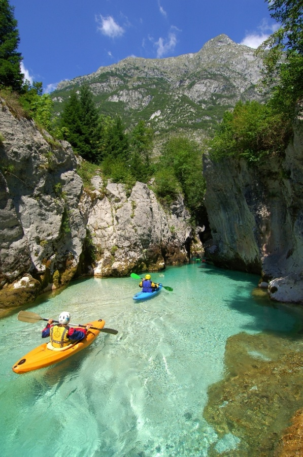Soca-Gorges-and-cave-in-Slovenia-by-Jesenicnik Adventure Travel Destinations to Enjoy an Unforgettable Holiday