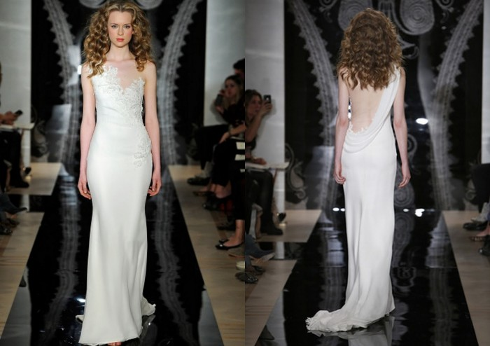 Spring2014WeddingDresses_ReemAcra 47+ Creative Wedding Ideas to Look Gorgeous & Catchy on Your Wedding