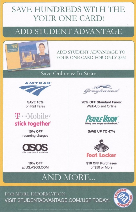 StudentAdvantagePoster2 Student Advantage Helps You to Save Money & Get All the College Essentials at the Best Prices