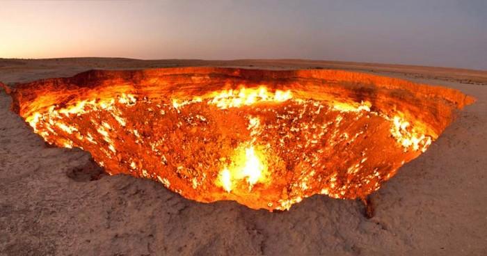 Surreal-Landscapes-on-Earth9 The Door to Hell Is Open Now, Have You Ever Seen It?