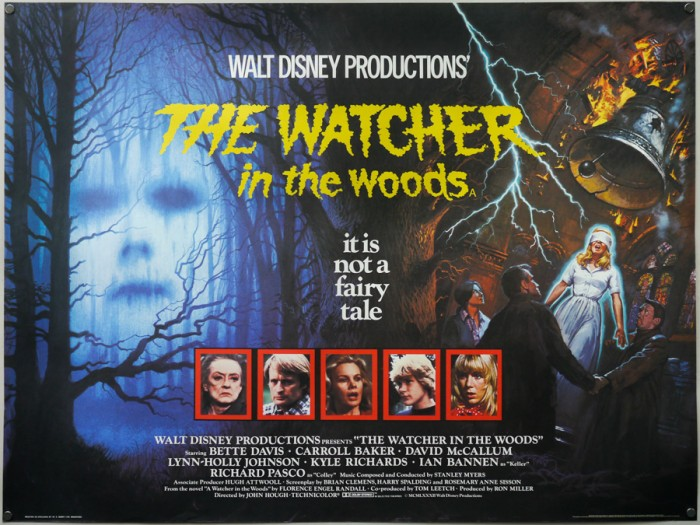 TheWatcherintheWoods_quad_UK_BrianBysouth-1 Top 10 Best & Most Interesting Kids Halloween Movies of All Time
