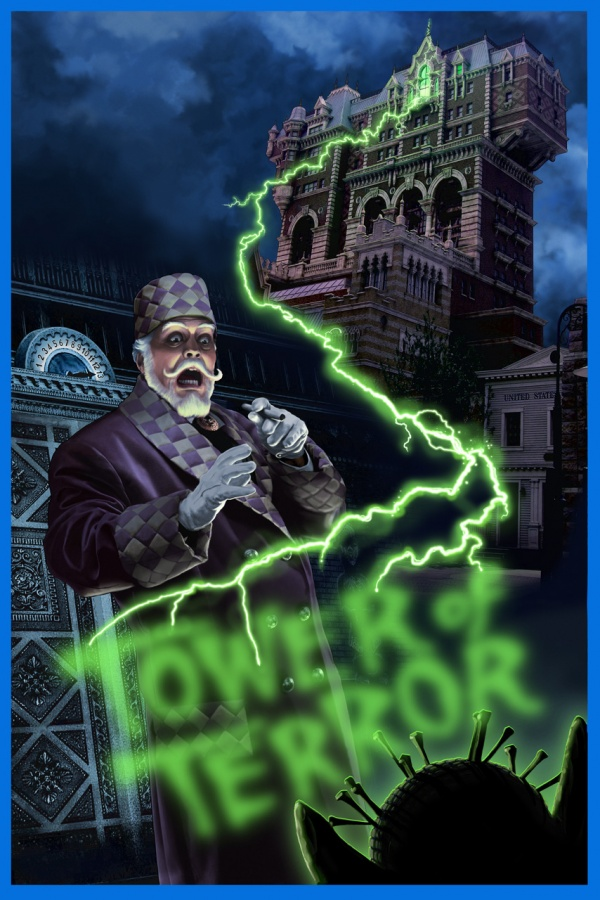 Tower_of_Terror_Poster Top 10 Best & Most Interesting Kids Halloween Movies of All Time
