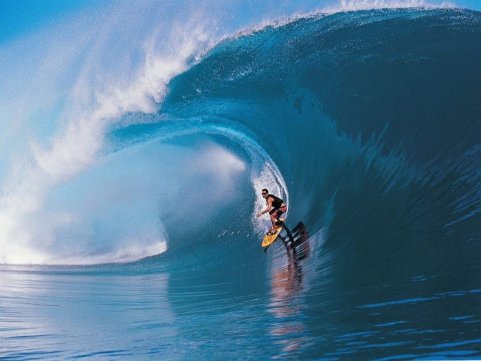 big-wave-surfing 70 Stunning & Thrilling Photos for the Biggest Waves Ever Surfed