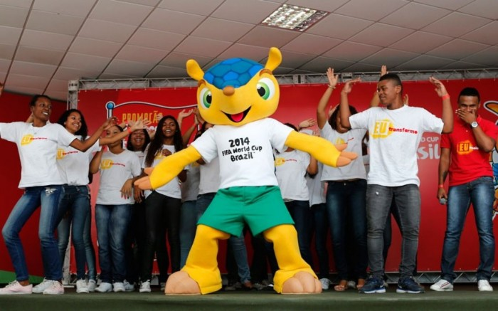 brazil_2014_world-cup-football-mascot $90-$900 for a Ticket to Attend the 2014 FIFA World Cup Matches