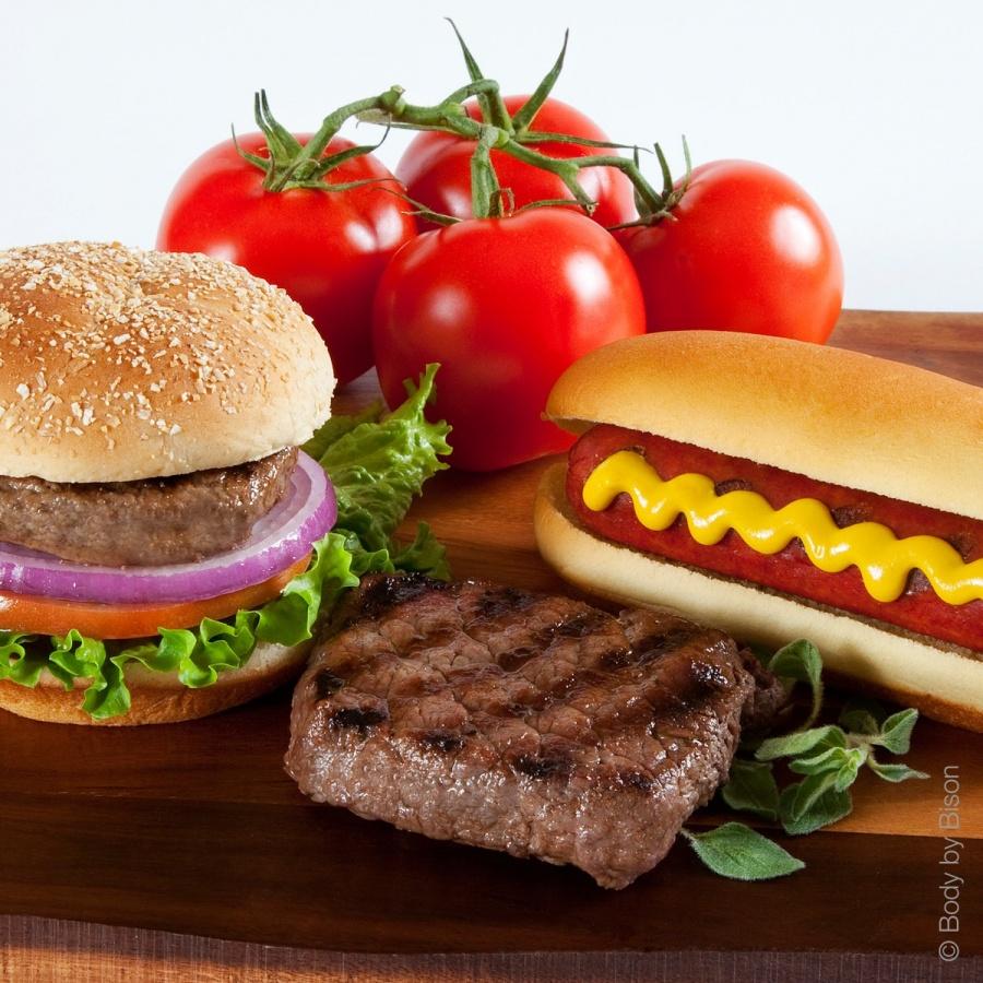 burgersteakhotdog_combo_1 Enjoy Losing Weight Without Being Deprived of Steak, Burger Or Hot Dog