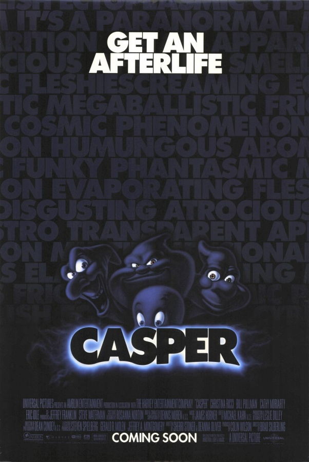 casper_poster Top 10 Best & Most Interesting Kids Halloween Movies of All Time
