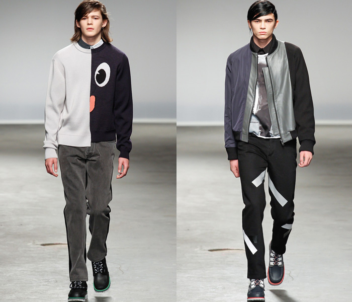christopher-shannon-denim-jeans-2013-2014-fall-autumn-winter-mens-runways-london-collections-fashion-week-trend-watch-02x 75+ Most Fashionable Men's Winter Fashion Trends for 2019