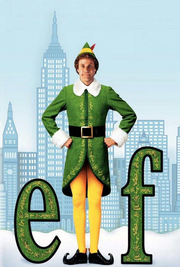 elf-movie-poster Top 10 Christmas Movies of All Time