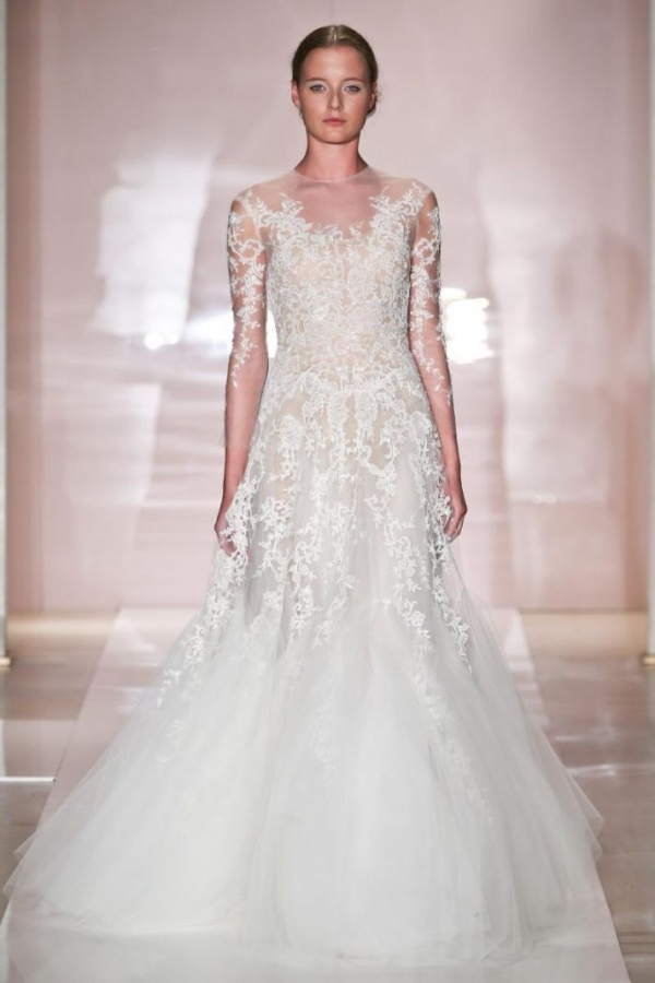 erica-2-wedding-dress-by-reem-acra-fall-2014-bridal__full 47+ Creative Wedding Ideas to Look Gorgeous & Catchy on Your Wedding