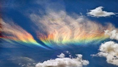 Photo of Weird Fire Rainbows that Appear in the Sky, Have You Ever Seen Them?