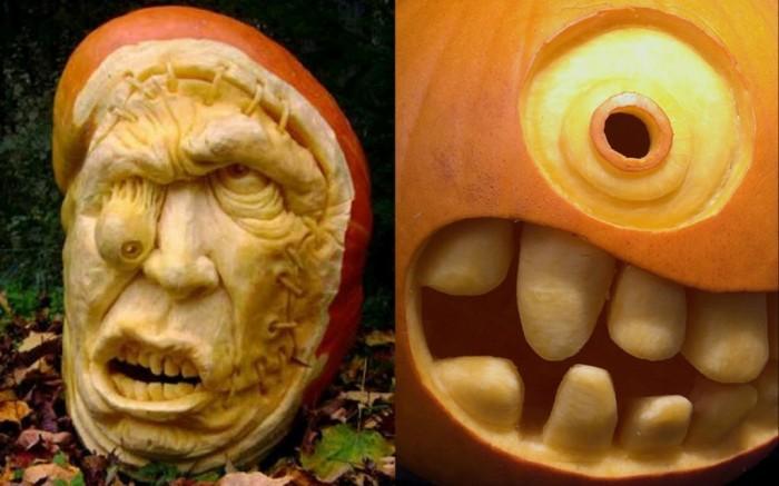 funny-eyes-Halloween-Pumpkin-Carving-1024x640 Top 60 Creative Pumpkin Carving Ideas for a Happy Halloween