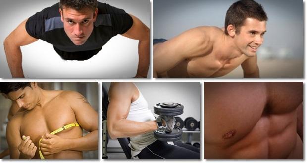 Man boobs workout