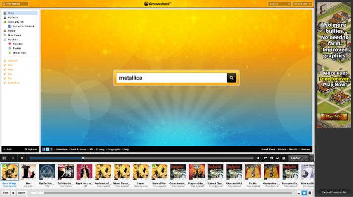 grooveshark Enjoy Listening to Millions of Free Online Songs with Grooveshark