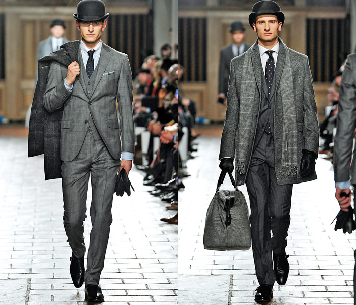 hackett-london-collections-men-british-united-kingdom-uk-england-2013-2014-fall-autumn-winter-runway-catwalk-fashion-show-01x 75+ Most Fashionable Men's Winter Fashion Trends for 2019