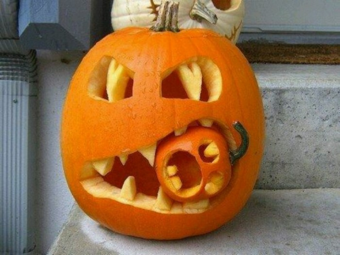 halloween-carving Top 60 Creative Pumpkin Carving Ideas for a Happy Halloween