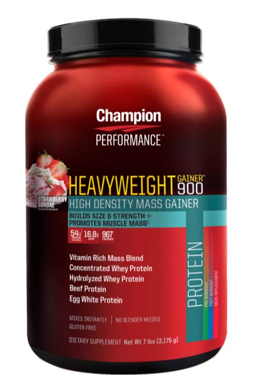 """heavyweight_gainer_900_champion Get All the Essential Nutrients for Your Body from """"Supplements to Go"""""""
