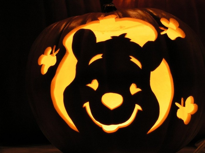 interior-others-winnie-the-pooh-pumpkin-carving-pattern-cool-pumpkin-carving-ideas Top 60 Creative Pumpkin Carving Ideas for a Happy Halloween
