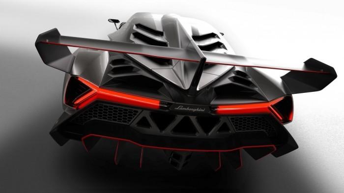 lamborghini-veneno_rear Lamborghini Veneno Allows You to Enjoy Driving At a High Speed