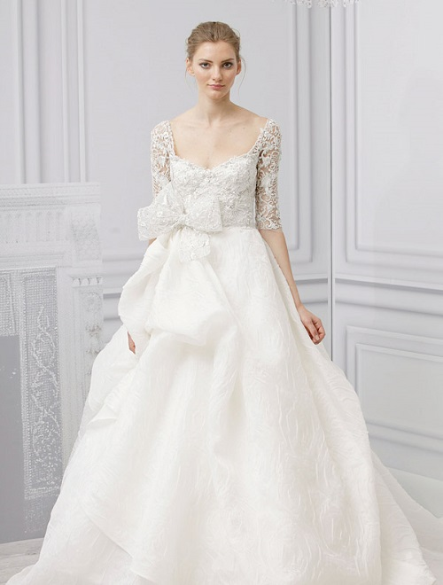 monique-lhuillier-royalty-wedding-dress-spring-2013 47+ Creative Wedding Ideas to Look Gorgeous & Catchy on Your Wedding